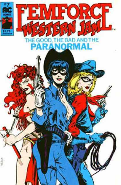 Femforce 7 - Western - Jam - The Good The Bad - Paranormal - Ac Comics - Mark Heike