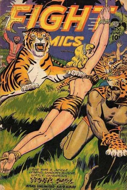 Fight Comics 50 - Tiger