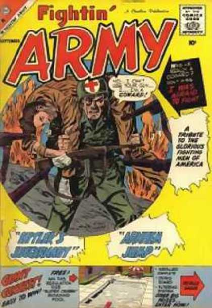 Fightin' Army 31 - Soldiers - Wounded - Medic - Aid - America