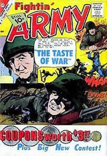 Fightin' Army 41 - Soldier - Rifle - The Taste Of War - Enemies - Still 10c