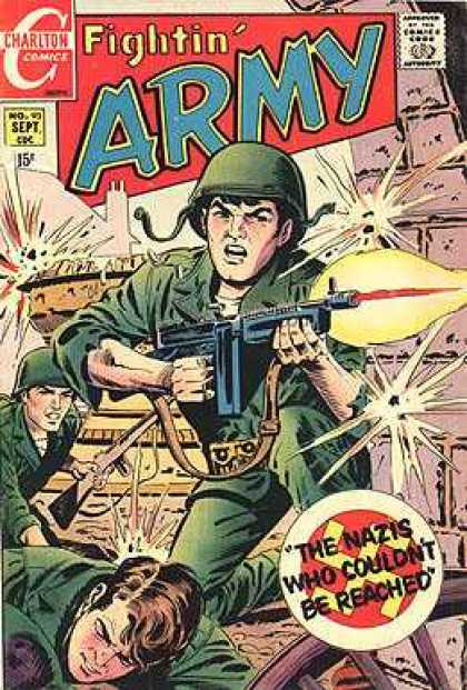 Fightin' Army 93 - The - Nazis - Who - Couldnt - Reached