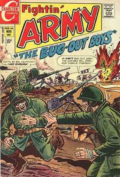Fightin' Army 94 - War - Fighting - Soldiers - Battlefield - Guns