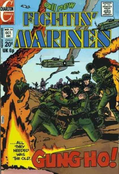 Fightin' Marines 114 - Gung Ho - Marines - Fighter Planes - War - Explosions