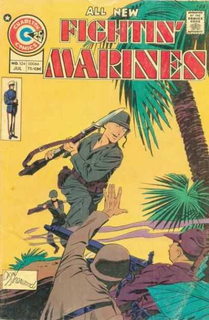 Fightin' Marines 124 - Rifles - Military - Uniforms - Fighting - Trees