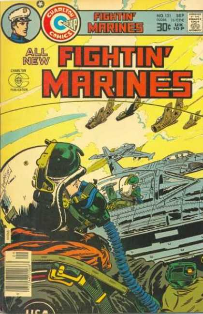 Fightin' Marines 131 - Aircraft - Comics - Publication - Code - Charlton