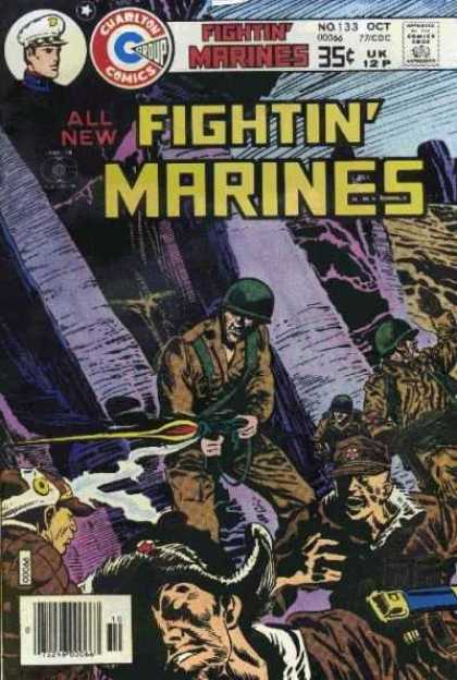 Fightin' Marines 133 - Battle - War - Gunfire - Attack - Fighting