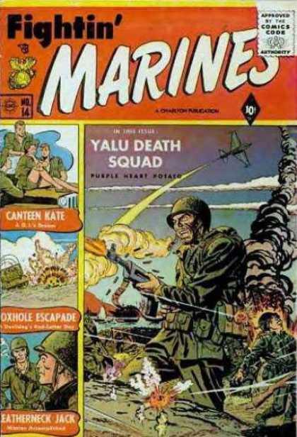 Fightin' Marines 14 - Fightin Marines - Yalu Death Squad - Canteen Kate - Oxhole Escapade - Eatherneck Jack