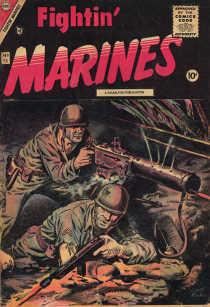 Fightin' Marines 15 - Cbc - Vietnam - Army - War - Marines - Matt Baker