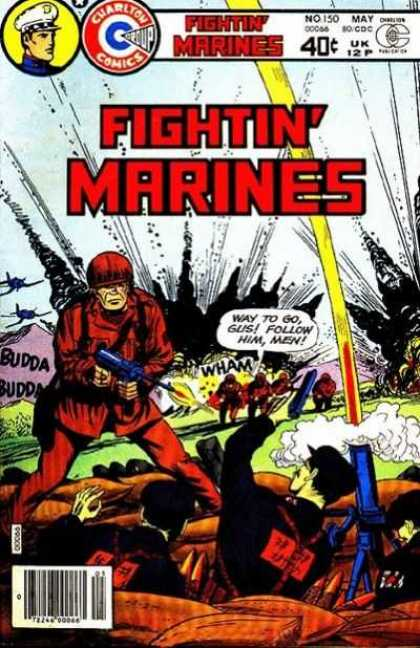 Fightin' Marines 150 - No 150 - May - Gus And Fight - War - Budda Budda