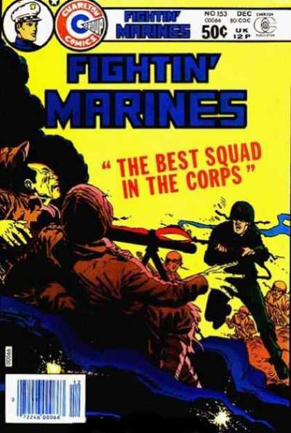 Fightin' Marines 153 - Charlton - December - Military - Best Squad In The Corps - Weapons