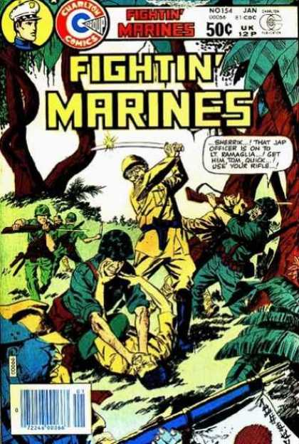 Fightin' Marines 154 - Marines - Worldwarii - Battle - Japanese - War