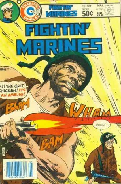 Fightin' Marines 156 - Cigar - Grit - Gun - Blast - Shoot