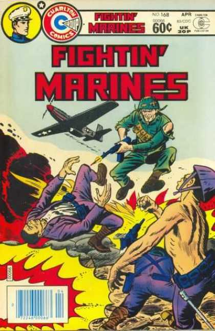 Fightin' Marines 168 - World War - Grandpas War - Normandy Pearl Harbor And South Pacific - Mustard Gas And Hand To Hand Combat - General Eisenhour
