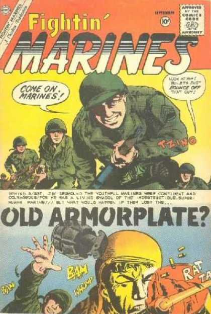 Fightin' Marines 37 - Army - War - Soldiers - Marines - Guns