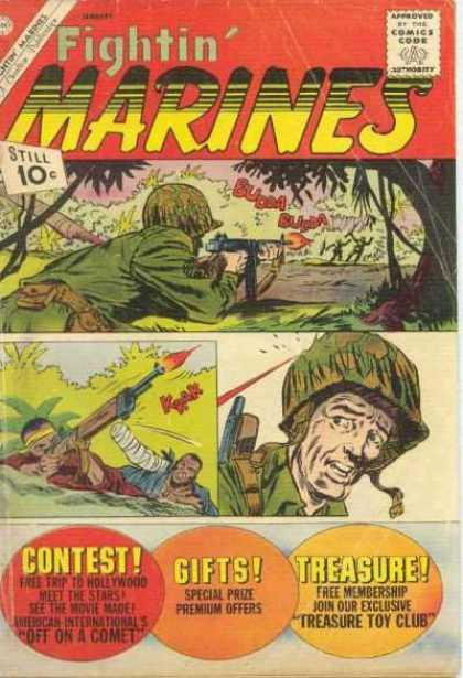Fightin' Marines 45 - Rifle - Od Green - Camoflauge - Treasure - Contest