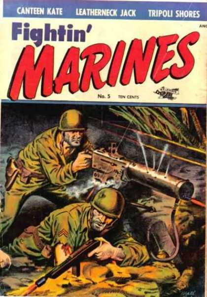 Fightin' Marines 5 - Soldiers - Helmets - Guns - Holsters - Tall Grass