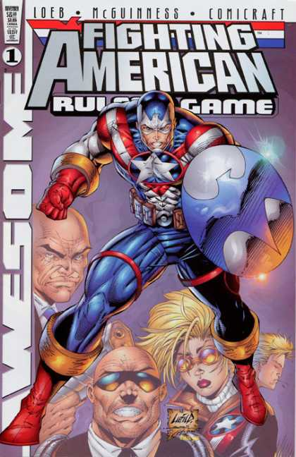 Fighting American 1 - Rob Liefeld