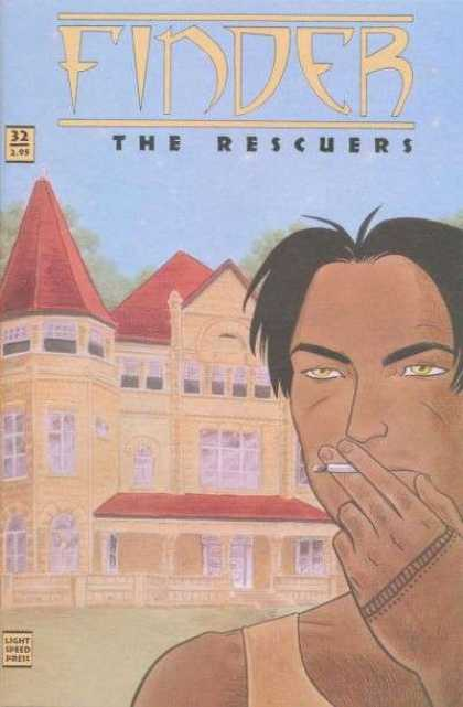 Finder 32 - The Rescuers - Smoking Man - Country Mansion - Tatoo - Light Speed