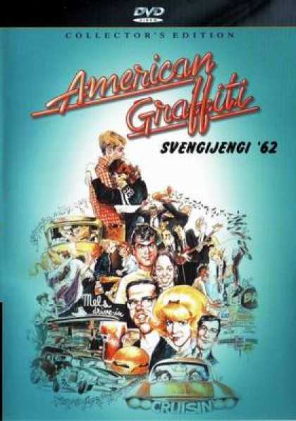 Finnish DVDs - Amercan Graffiti