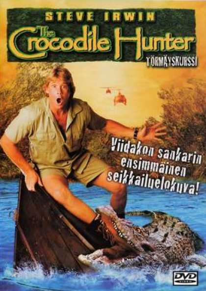 Finnish DVDs - Crocodile Hunter