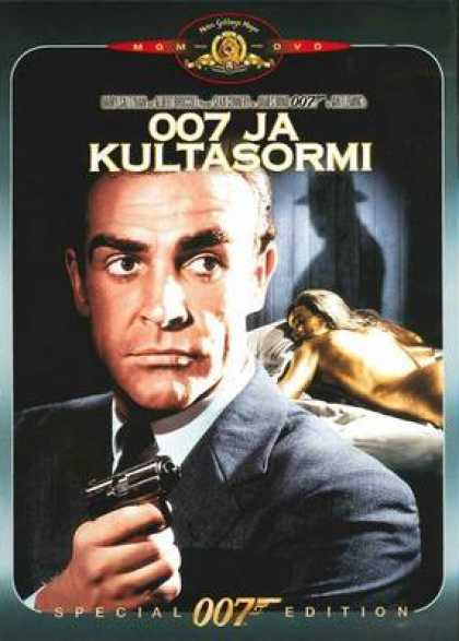 Finnish DVDs - James Bond Goldfinger