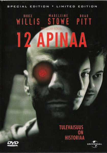 Finnish DVDs - 12 Monkeys Special