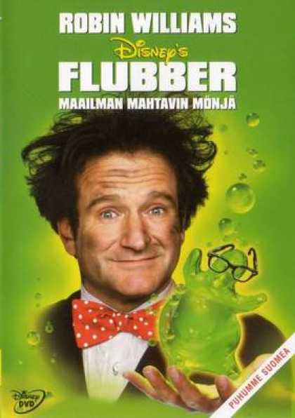 Finnish DVDs - Flubber