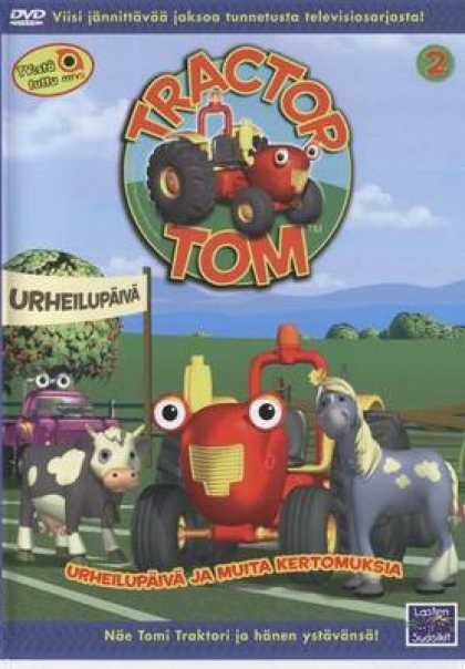 Finnish DVDs - Tractor Tom 2