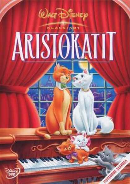 Finnish DVDs - The Aristocats