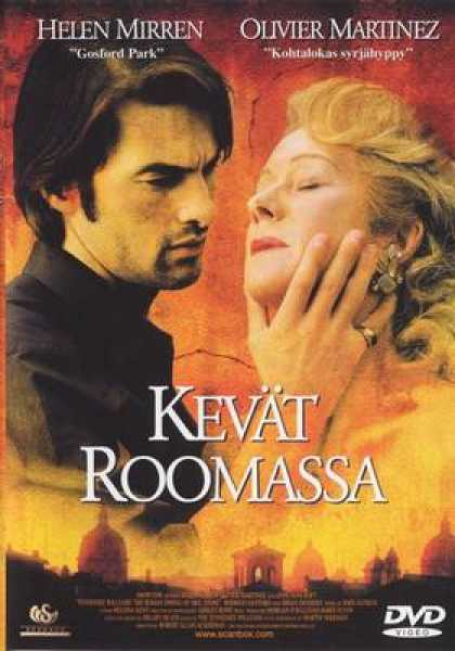 Finnish DVDs - The Roman Spring Of Mrs Stone