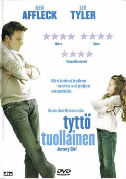 Finnish DVDs - Jersey Girl