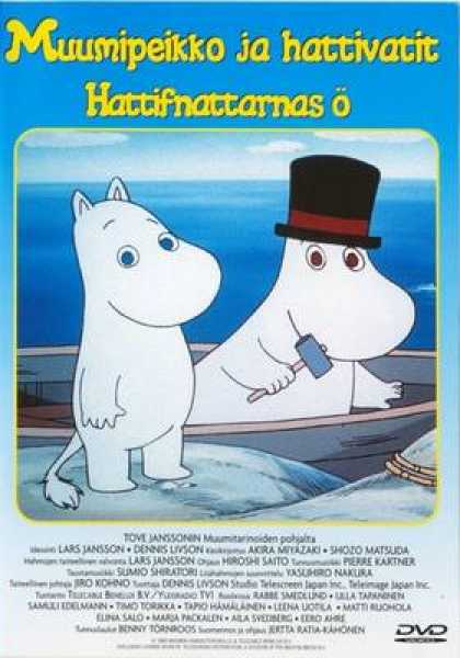 Finnish DVDs - Tales From Moominvalley Hattivatteners