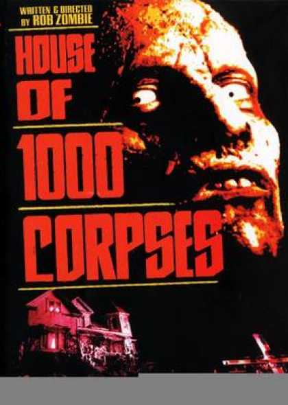 Finnish DVDs - House Of 1000 Corpses