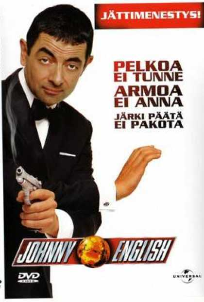 Finnish DVDs - Johnny English