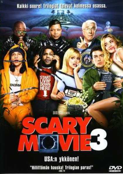 Finnish DVDs - Scary Movie 3