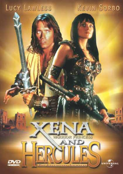 Finnish DVDs - Xena And Hercules