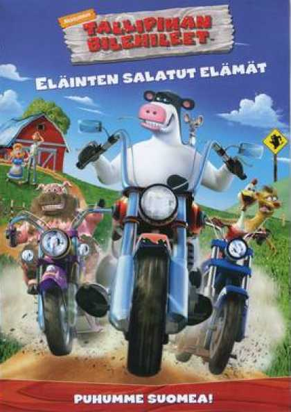 Finnish DVDs - Barnyard