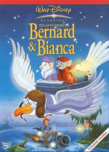 Finnish DVDs - The Rescuers
