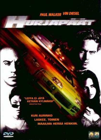 Finnish DVDs - Fast And The Furious