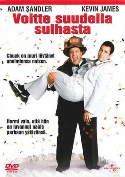 Finnish DVDs - I Now Pronounce You Chuck & Larrry