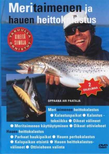 Finnish DVDs - Tight Line 1 Vol 1