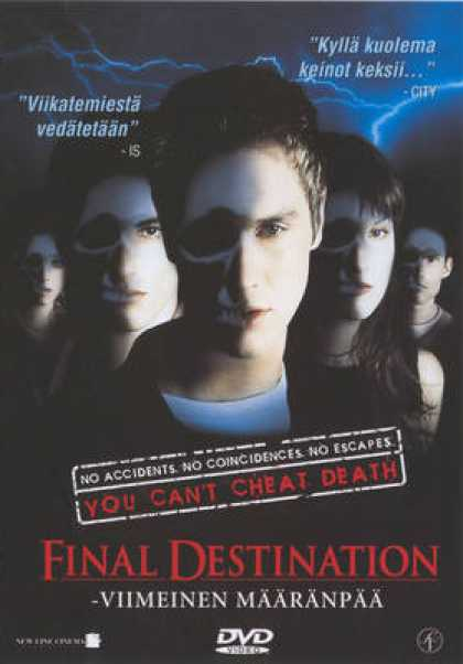 Finnish DVDs - Final Destination