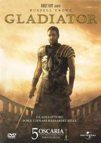 Finnish DVDs - Gladiator