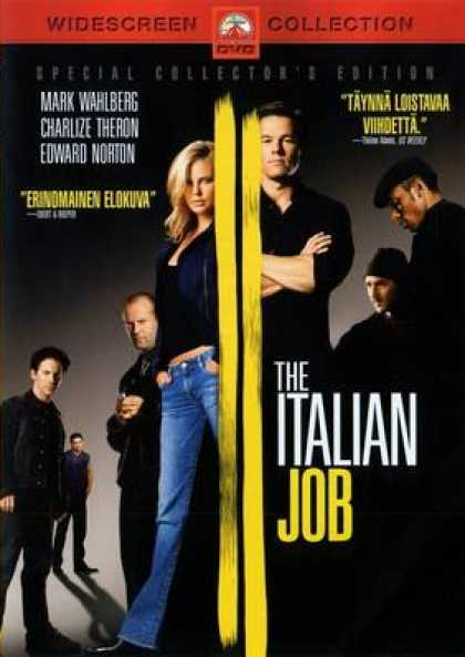 Finnish DVDs - Italian Job