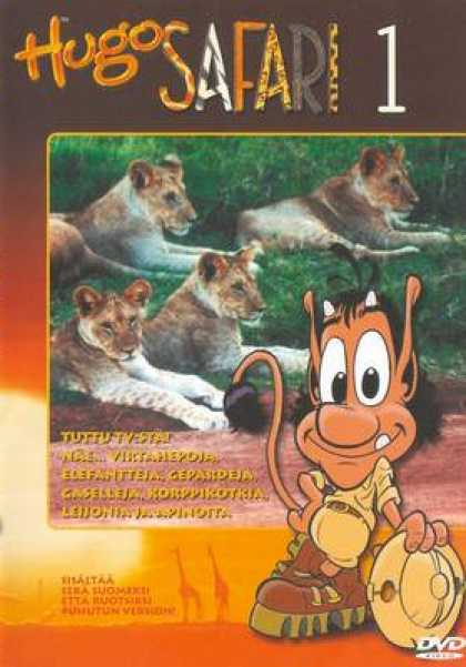Finnish DVDs - Hugo Safari 1