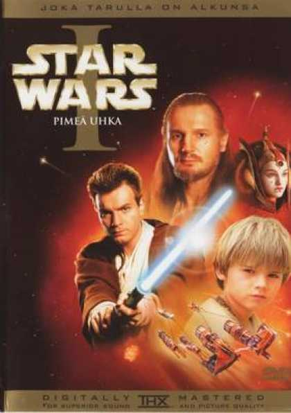 Finnish DVDs - Star Wars 1 Special