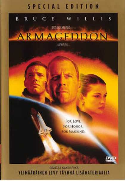 Finnish DVDs - Armageddon