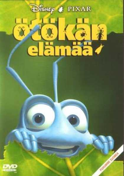 Finnish DVDs - A Bug's Life