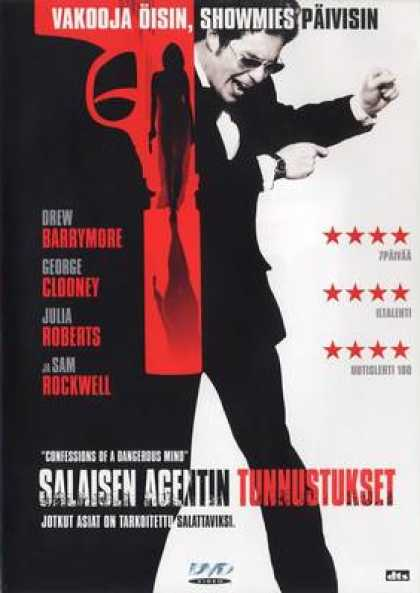 Finnish DVDs - Confessions Of A Dangerous Mind