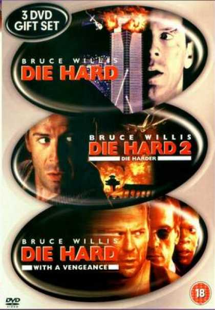 Finnish DVDs - Die Hard Trilogy